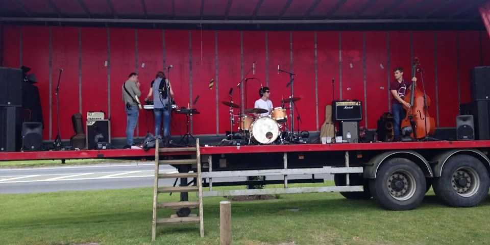 The Zoots band Eversley CC
