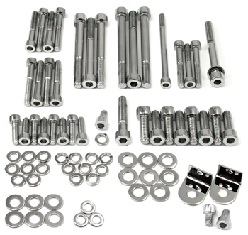 Motorsport! Chromed Engine Bolt Bundle, 70-74 240Z-260Z