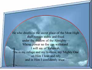 he who dwells in the secret place of the most High