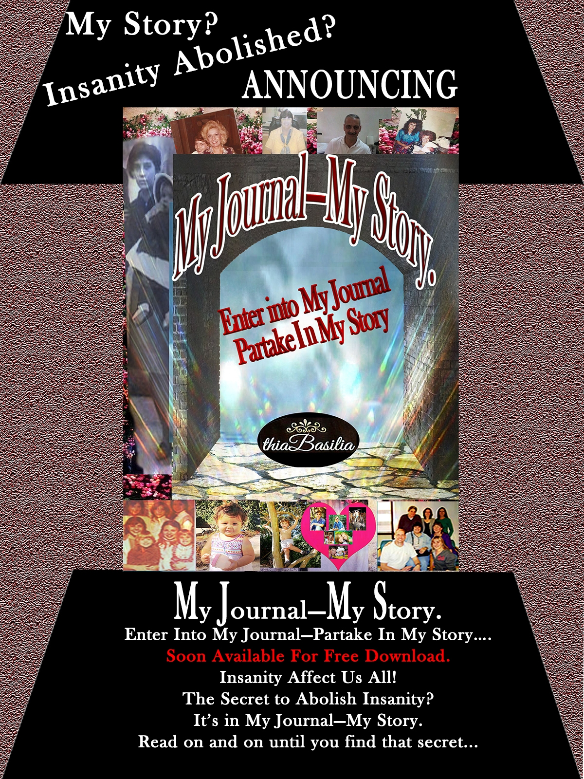 A Graphic to promote My Journal_My life LATEST