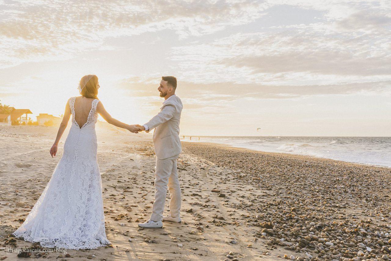 Fotografia de Casamento na praia da tabuba buffet solarium tabuba por Thiago Cascais (45)