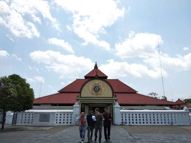 Entrée du kraton de Yogyakarta