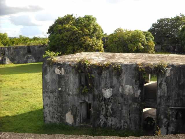 Batiment à l'intérieur du Fort Manda