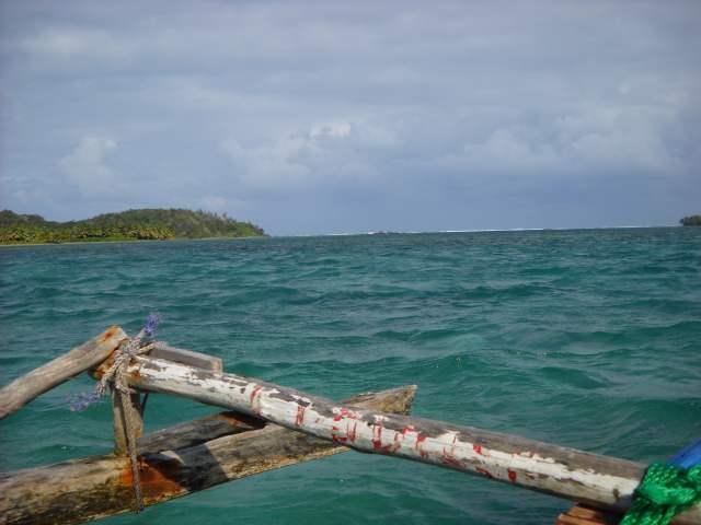 Traversée en pirogue vers l'île aux Nattes