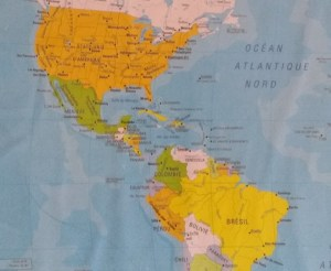 continent américain