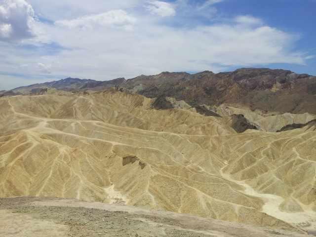 La Vallée de la Mort aux Etats-Unis