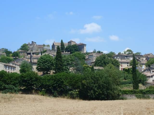 Le village de Bruniquel dans le Tarn-et-Garonne