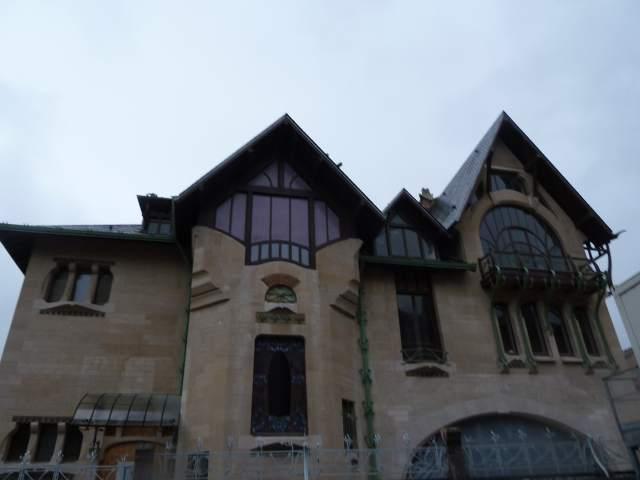 Art nouveau à Nancy - villa majorelle