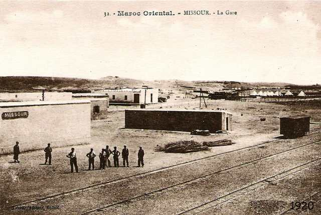 gare de missour en 1920