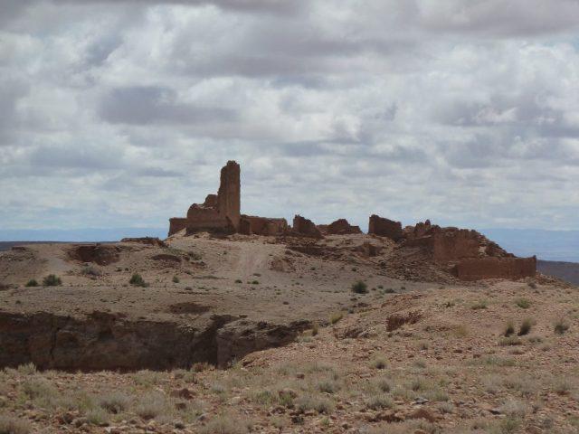 le fort sur la route de Missour à Enjil