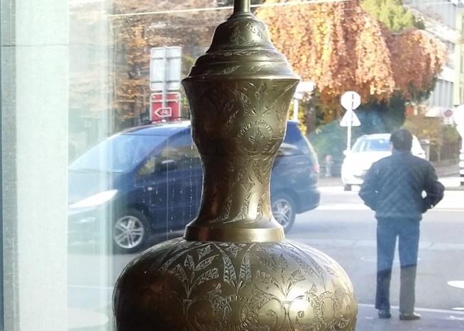 Egyptian Vase at Pyramids restaurants in Zurich