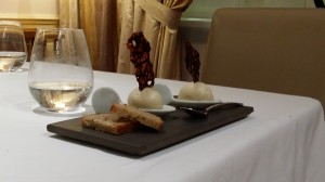 3 Michelin star ice cream at la Lameloise