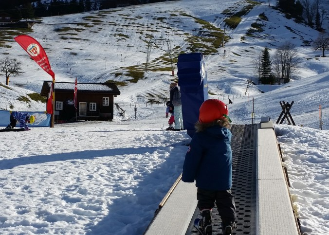 Oberiberg ski resort near Zurich perfect for kids