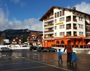 Oberiberd child friendly ski resort near Zurich