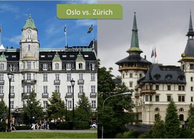 Oslo vs Zurich