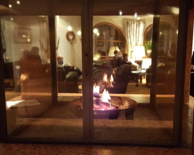 Fireplace in Austria