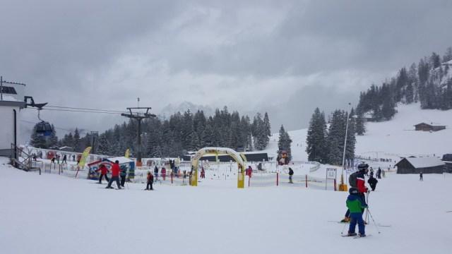 Children skiland in Lofer