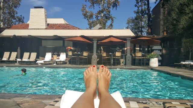 Los Angeles with children- the Garland Hotel
