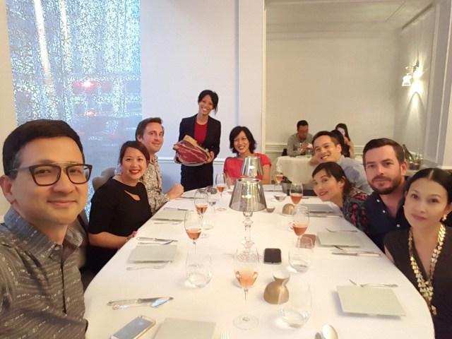 fine dining in Paris