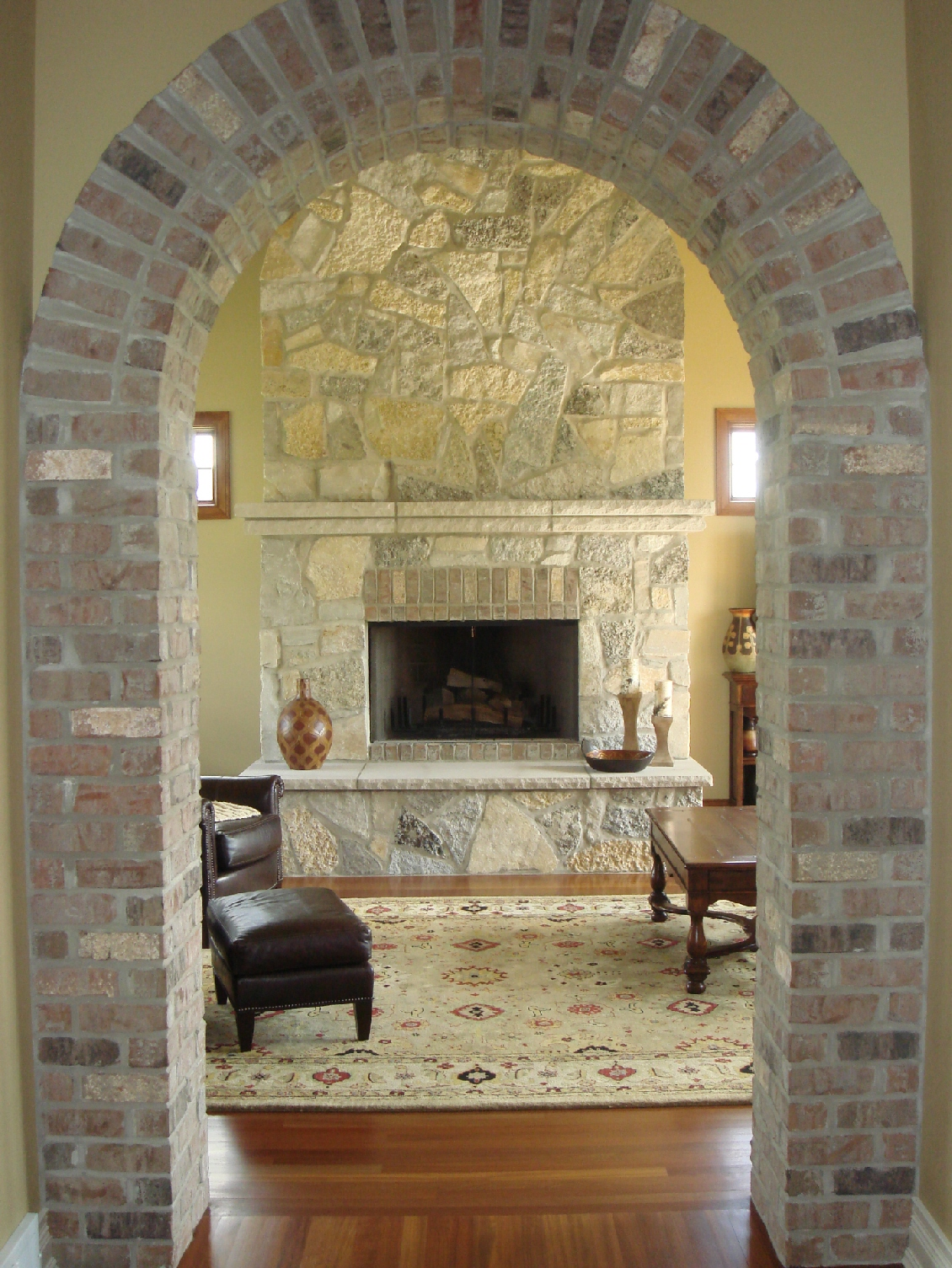 1000 images about brick wallarchway on Pinterest