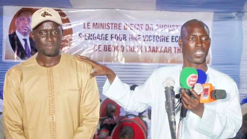 locales 2022 a thies nord el had - Locales 2022 à Thies Nord: El Hadj Diabel Dieng investit Pape Malick Sow candidat du BBY