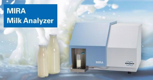 máy mira bruker quang phổ ft nir phân tích sữa