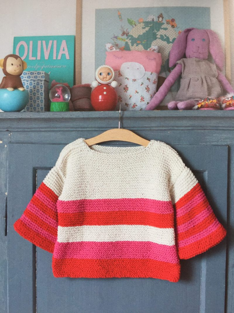 Child's jumper Project from Hoooked's book