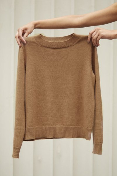 Modern, sustainable knitwear