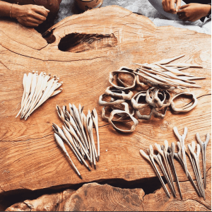 Meet: SAYA Designs and their handcrafted hair sticks   Thimble End
