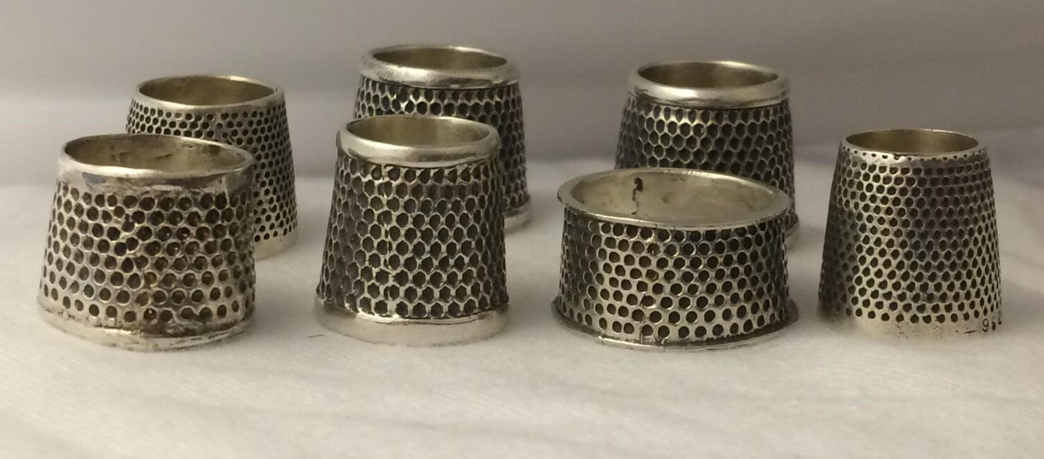 tailor s thimble in