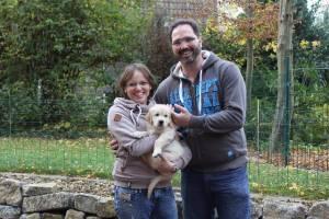 Koby zieht nach Kaarst zu Nicole und Florian.