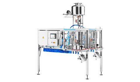 SF200: NEW GENERATION SPOUT FILLING MACHINE FOR DOYPACK