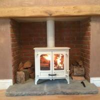 Brick cladding for Fireplace build brick veneer Fire place ...