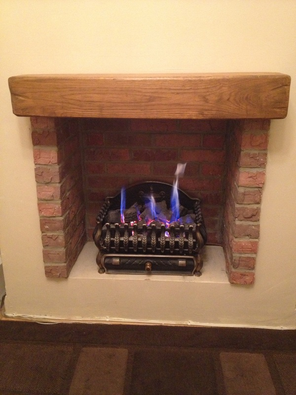 Creating a fire place using Brick slips  THIN BRICK