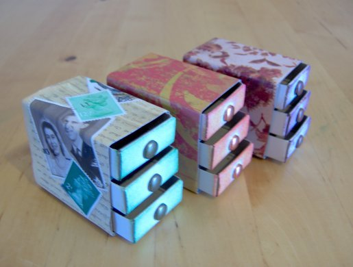 Things to Make and Do  Matchbox Chest of Drawers