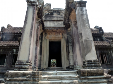 One of the doorways to Angkor's interior.