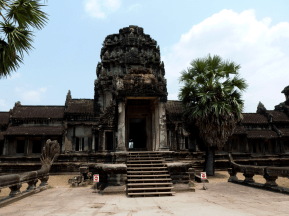 One of Angkor Wat's libraries.