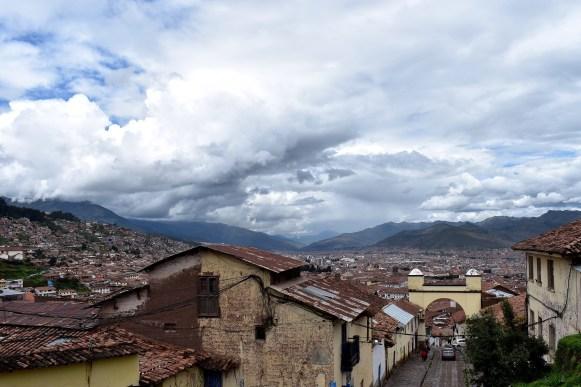 A view from Cuesta Santa Ana.