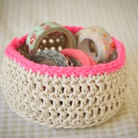 Loving...crochet baskets