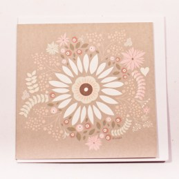 Brown-Gift-Card-With-White-Red-And-Pink-Flower-Leaf-And-Heart-Pictures1