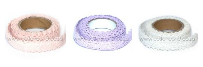 lace tape cotton candi