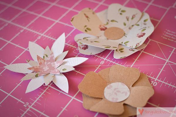 paper flower letters-3