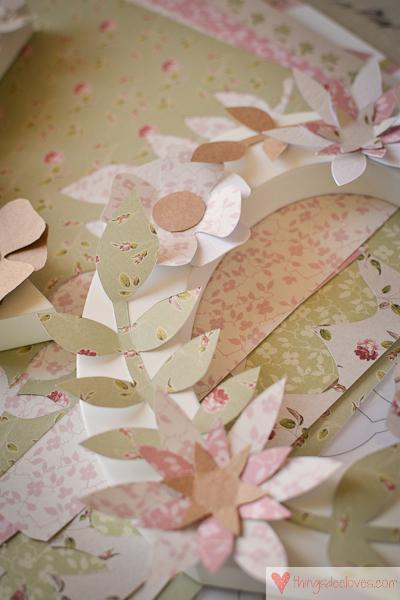 paper flower letters-6