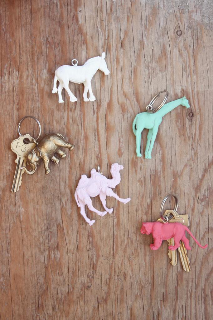 animal keychain #thingsdeeloves 3