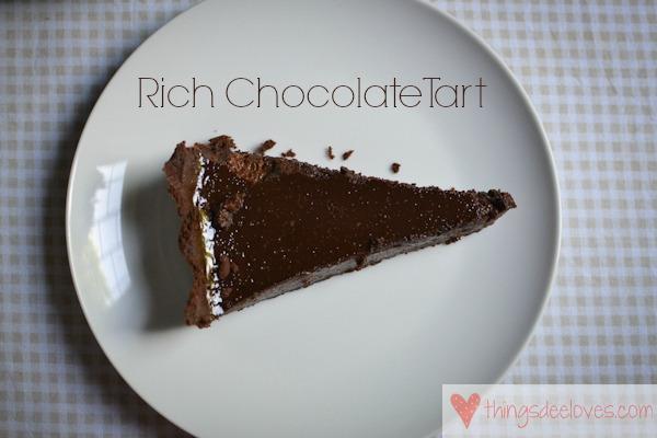 chocolate tart #thingsdeeloves-5