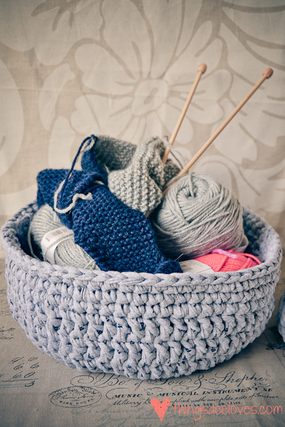 crochet t-shirt basket-4