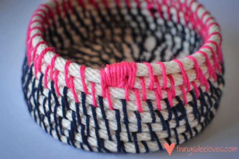 DIY rope basket-11