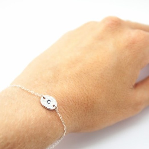 bracelet_sterling_silver_hammered_pewter_coin-400x400