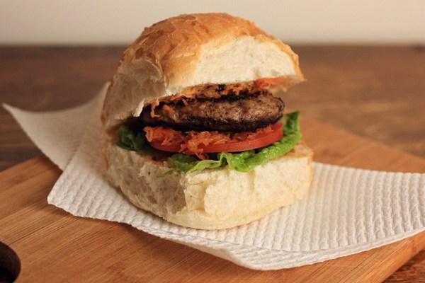 Turkey Satay Burgers