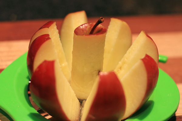 Buttered apple